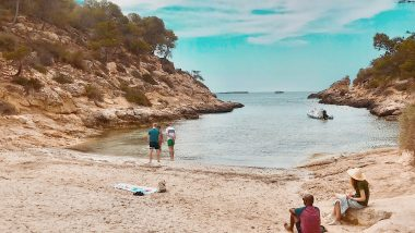 Cala Falco beach