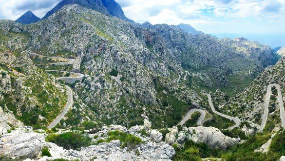Sa Calobra road