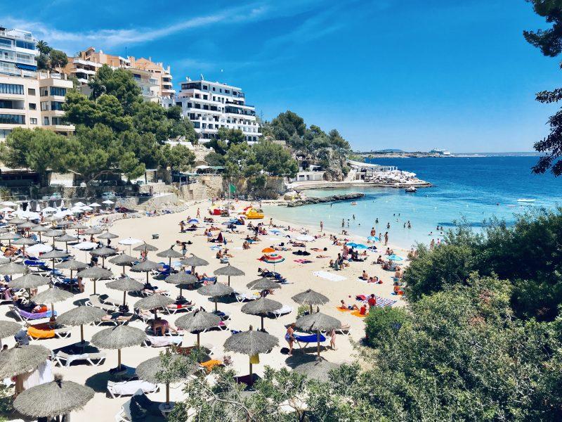 Illetas beach