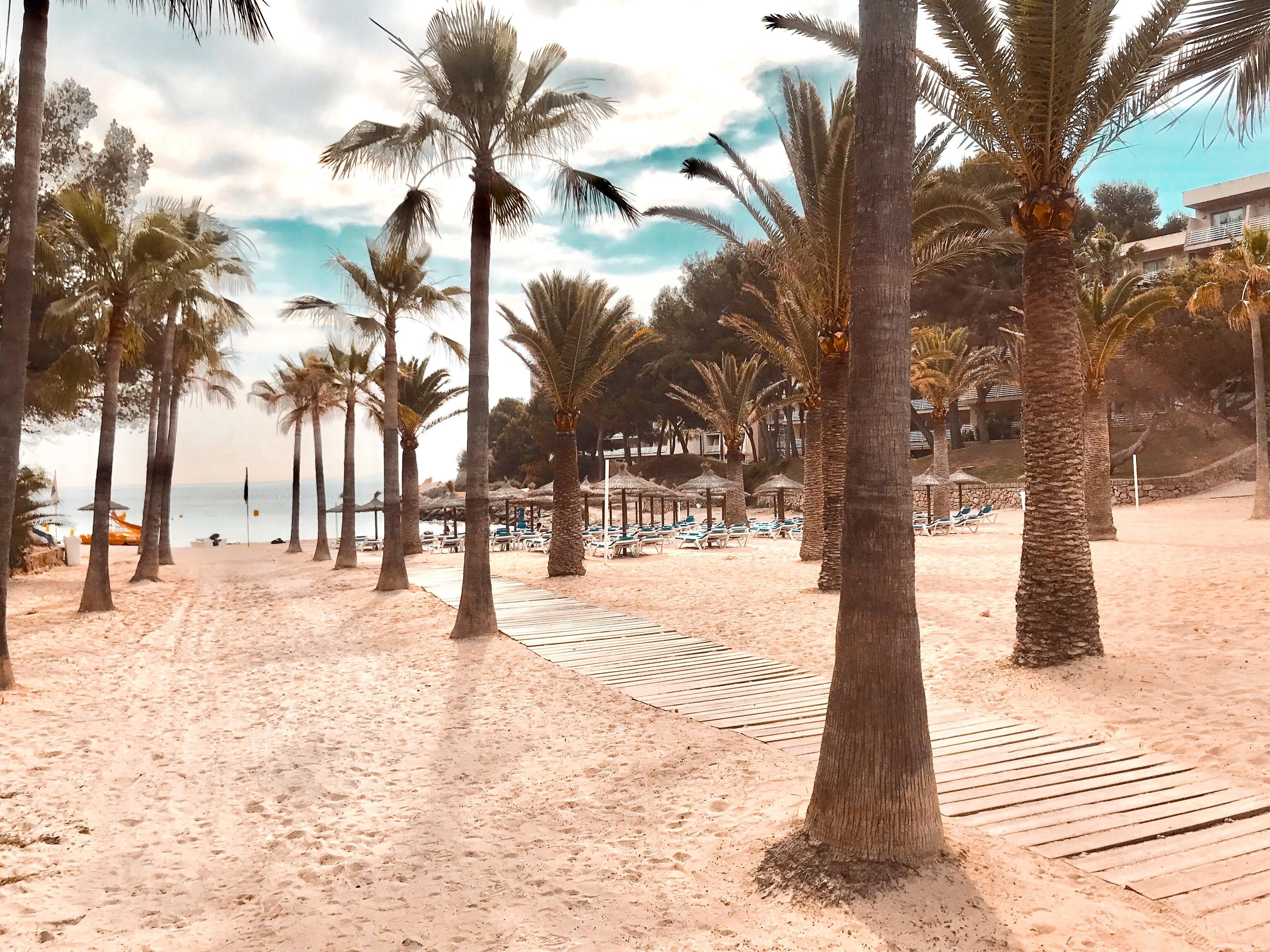 Cala Vinyes beach